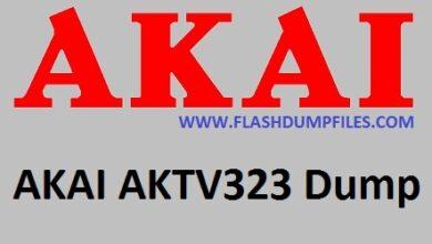 AKAI- AKTV323-SOFTWARE
